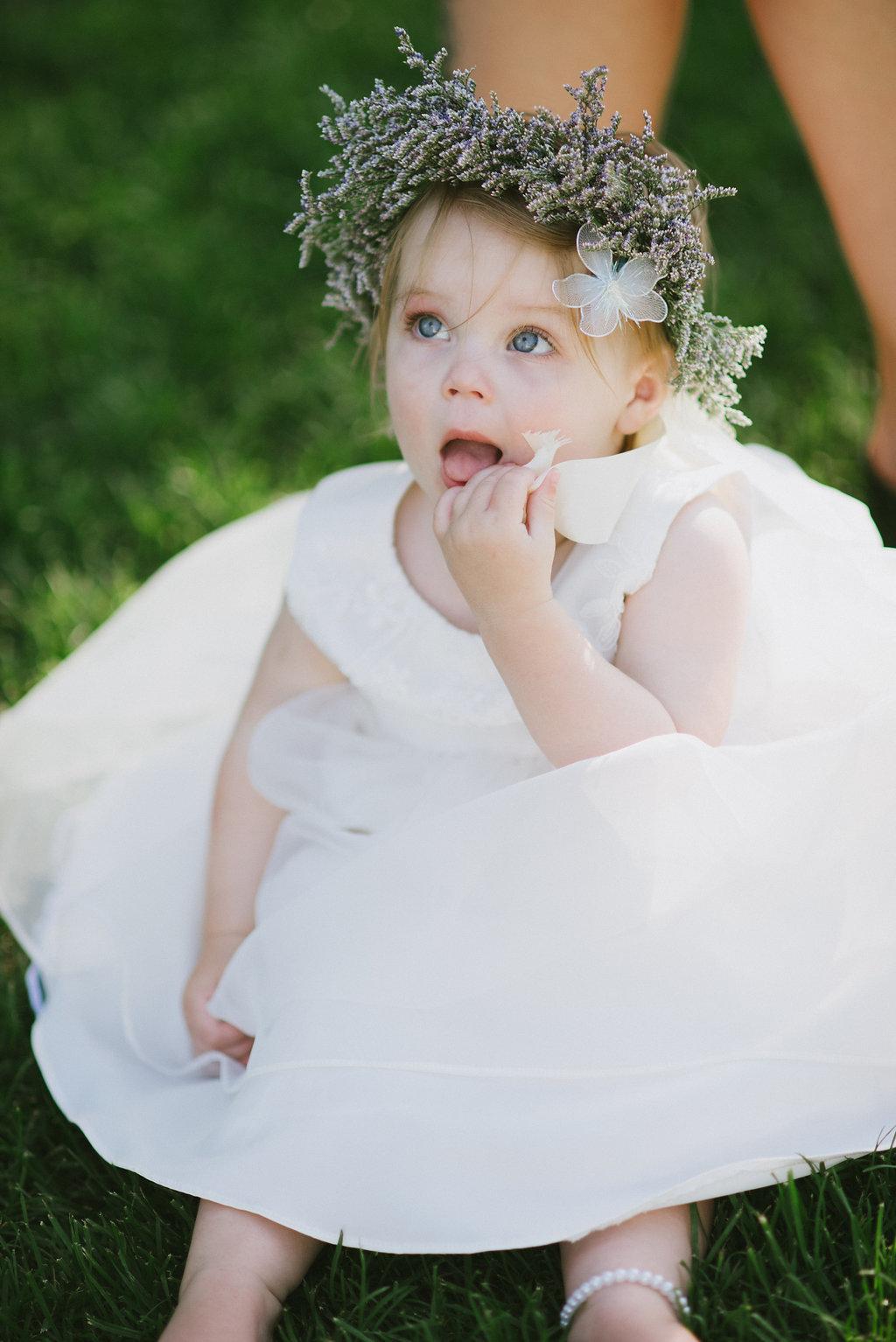 Flower Girl Halo - Winnipeg Wedding Florist