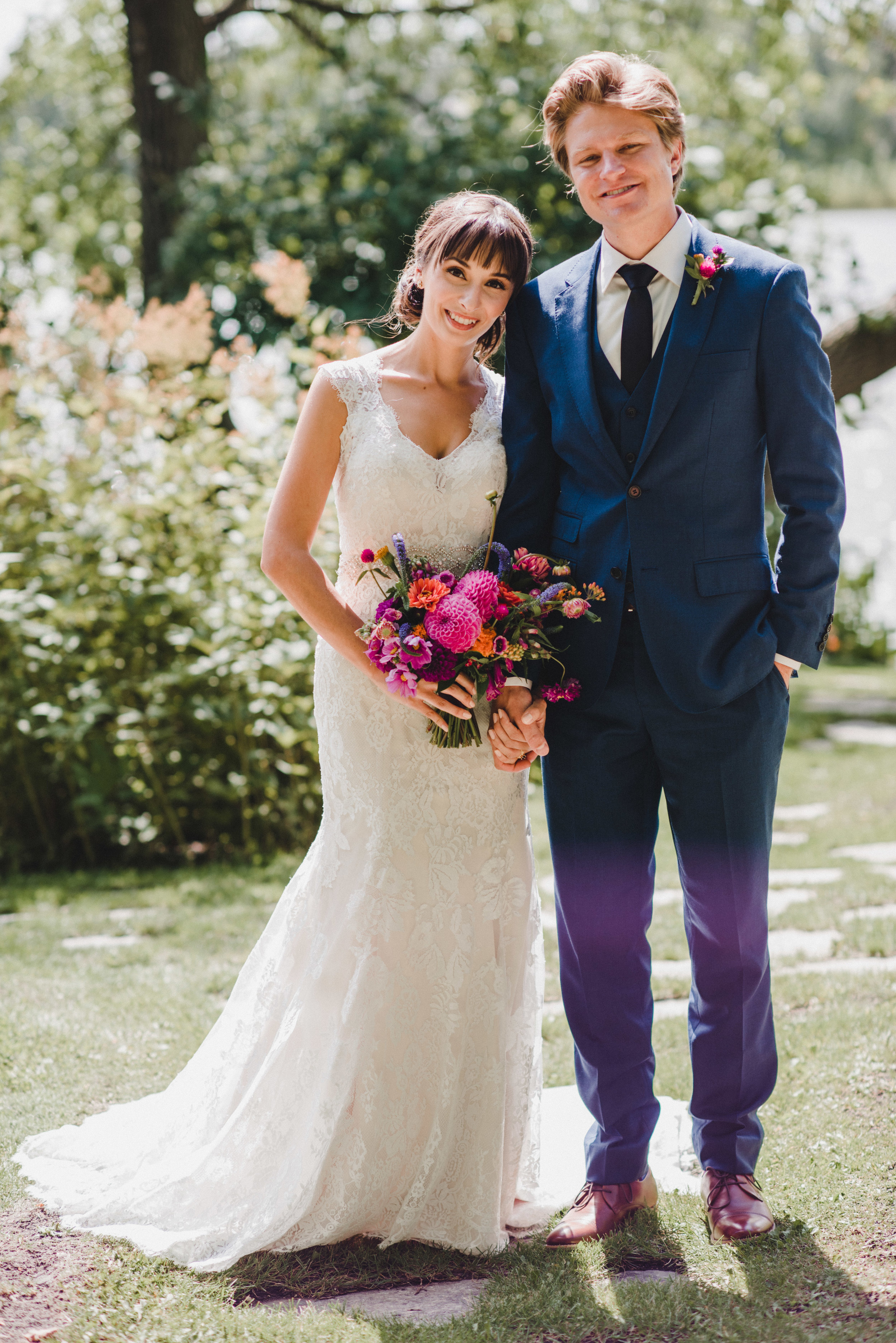Vibrant Wedding Flower Ideas - Stone House Creative