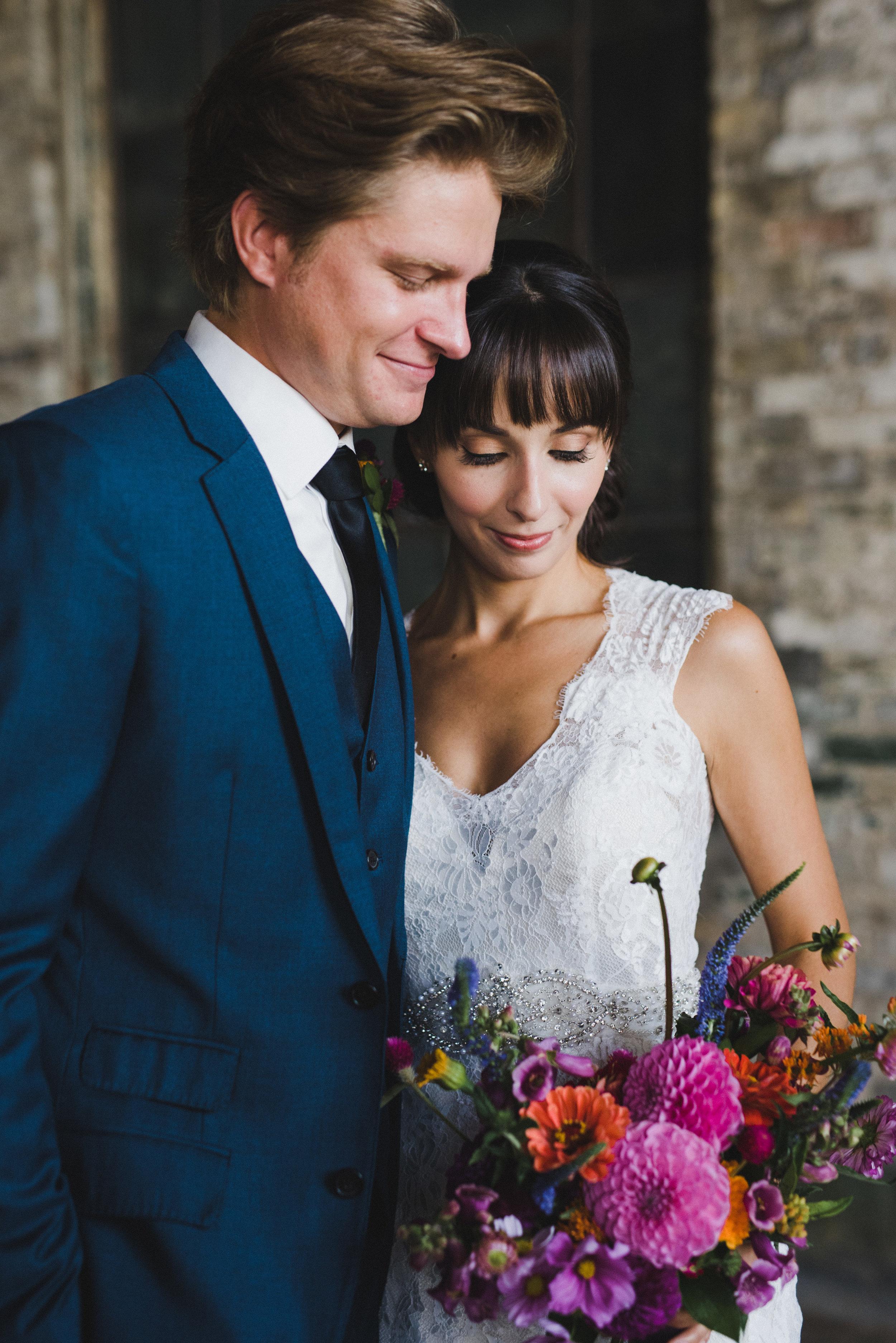 Organic Summer Wedding Ideas - Colourful Wedding Flower Inspiration