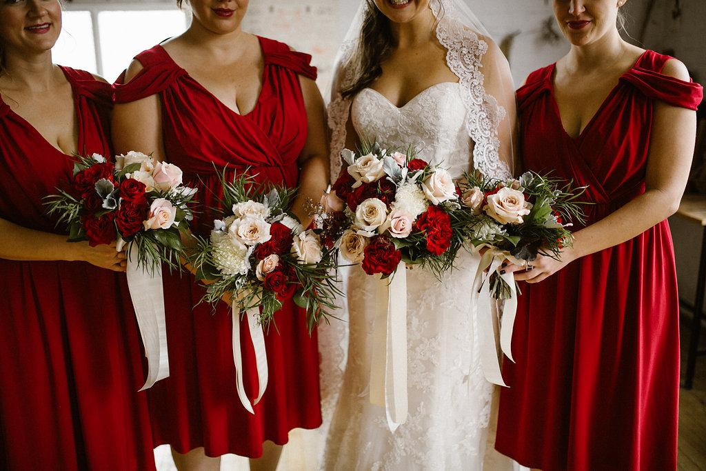 Burgundy Wedding Ideas - Winnipeg Wedding Florist