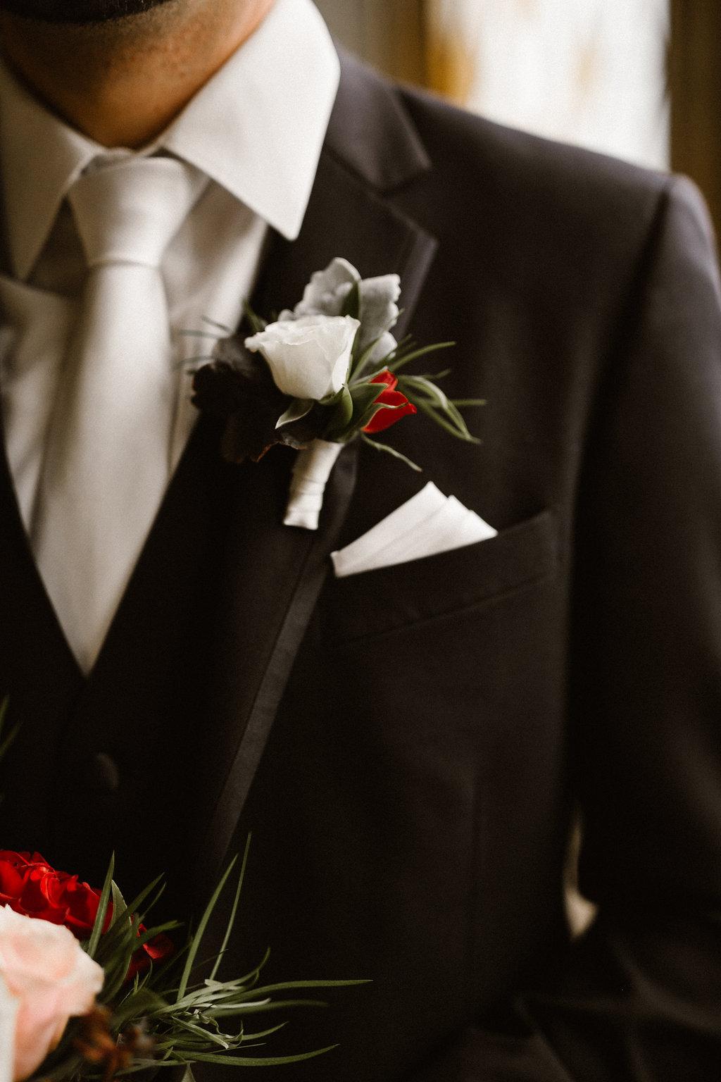 Wedding Boutonniere - Wedding Florist in Winnipeg