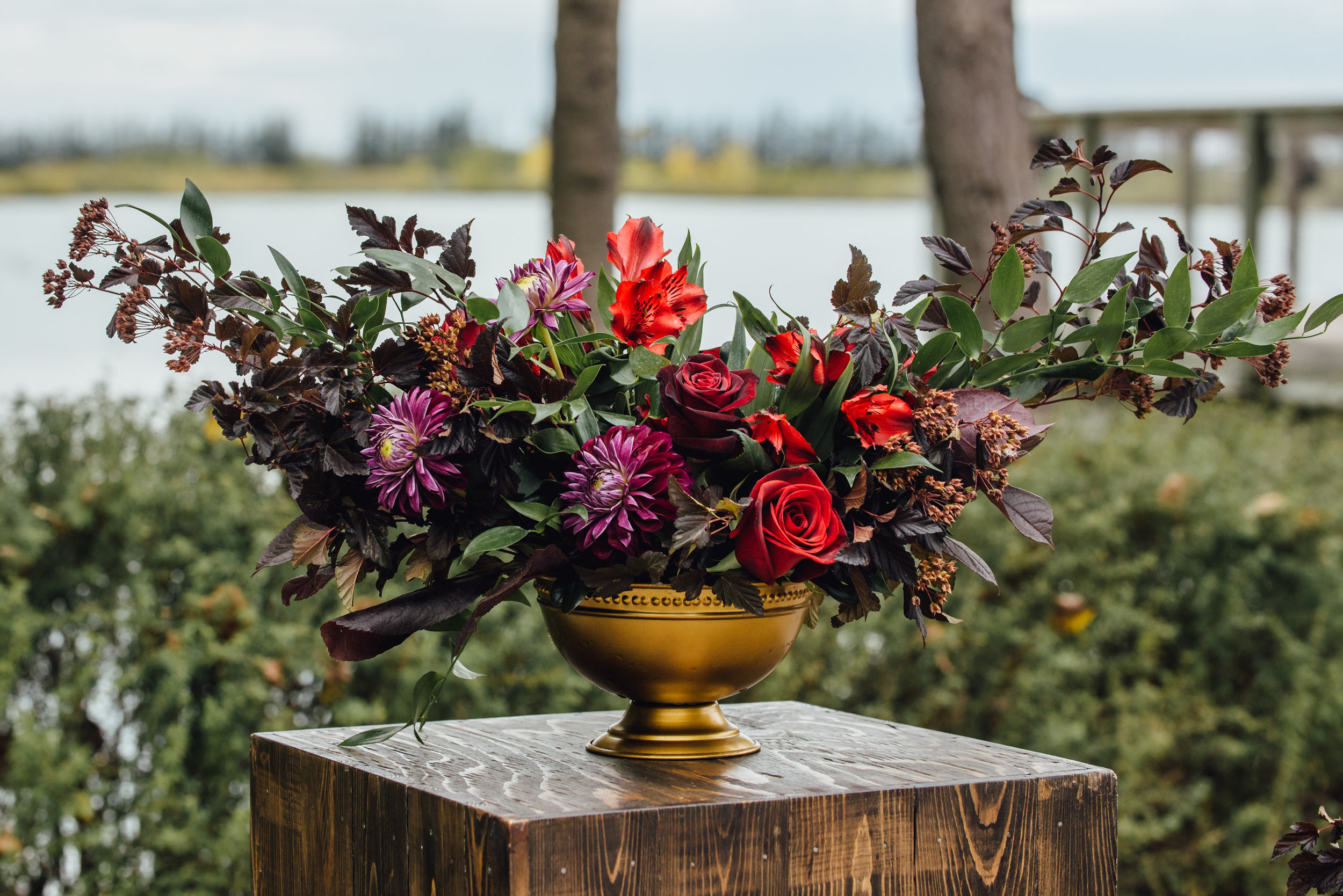 Fall Wedding flower Ideas - Stone House Creative