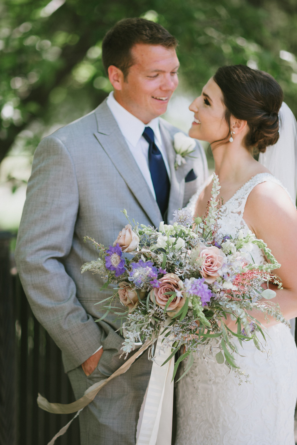 Whimsical Lavender Bridal Bouquet - Wedding Florists in Winnipeg