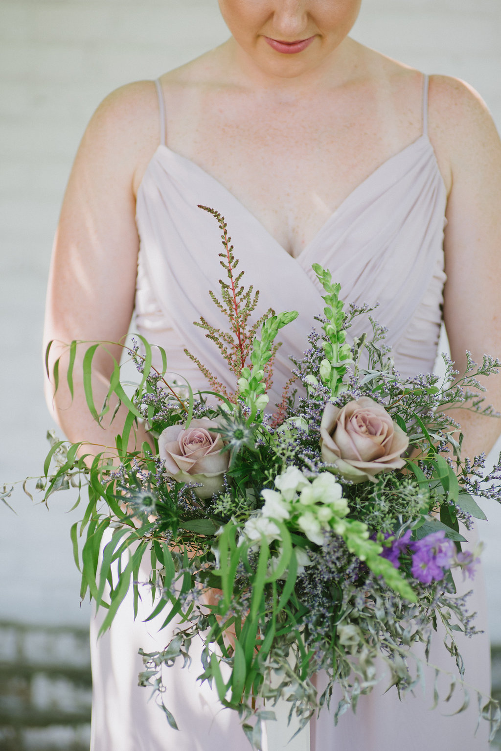 Whimsical Bridesmaid Bouquet - Lavender Wedding Flowers