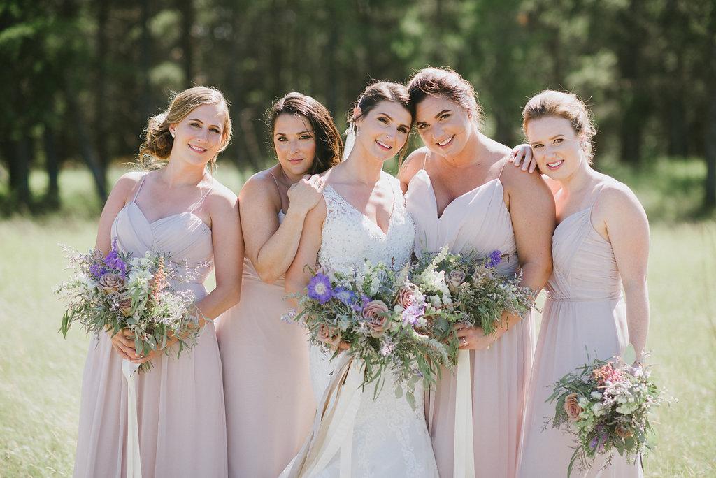 Dusty Pink Bridesmaid Dresses - Winnipeg Weddings