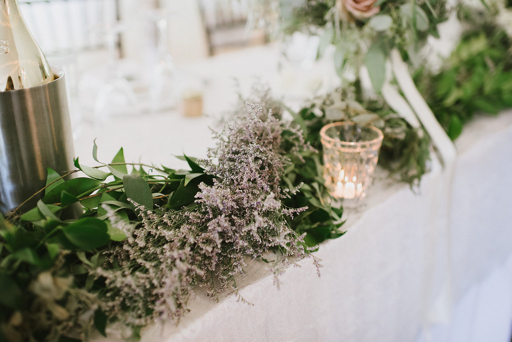 Head Table Wedding Flowers - Wedding Florist in Winnipeg