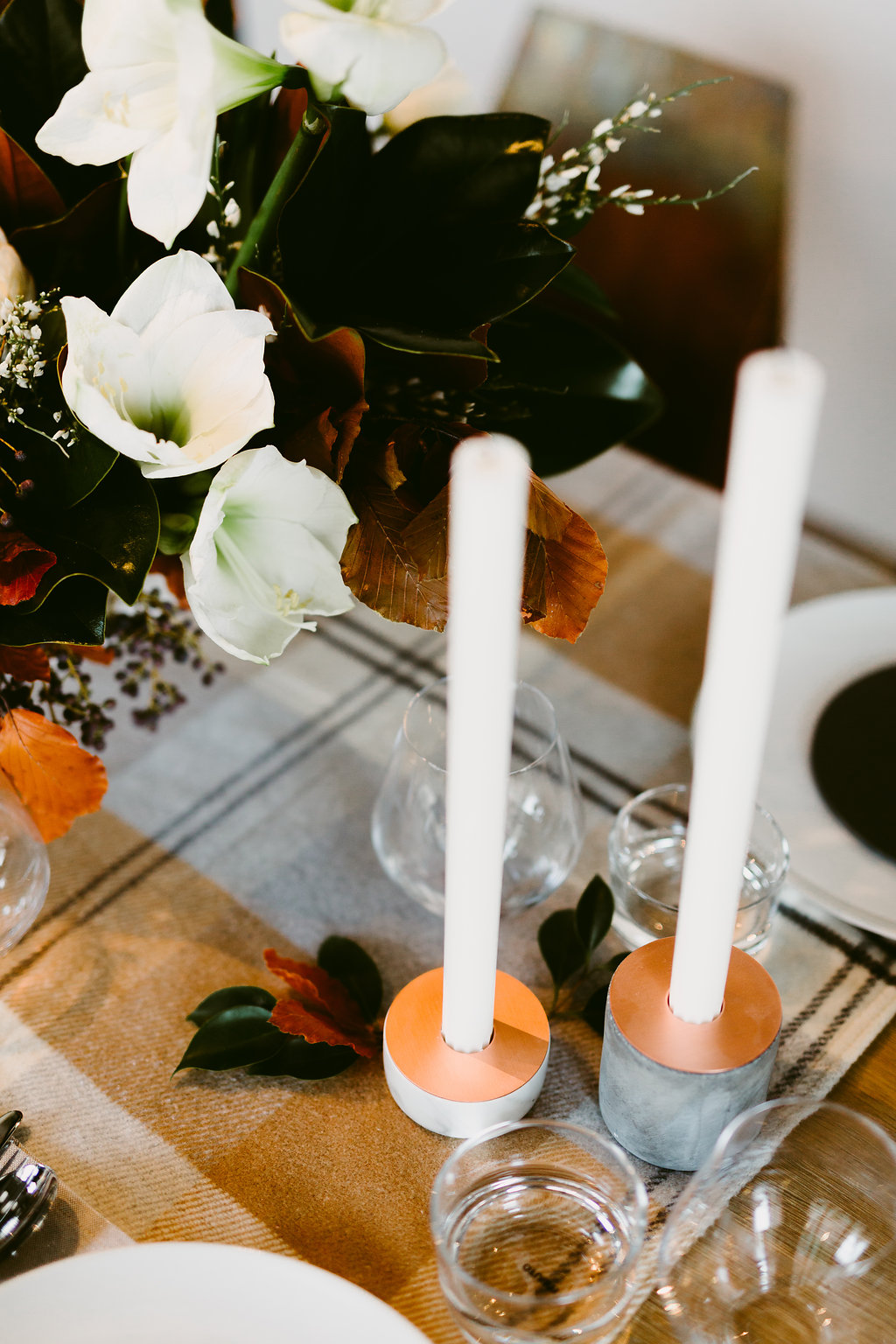 Copper Wedding Ideas - Winter Wedding Inspiration
