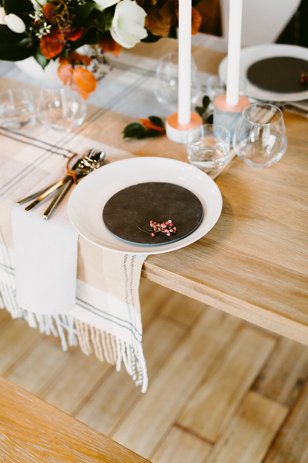 Cosy Winter Wedding Decorations - Winnipeg Wedding Florist
