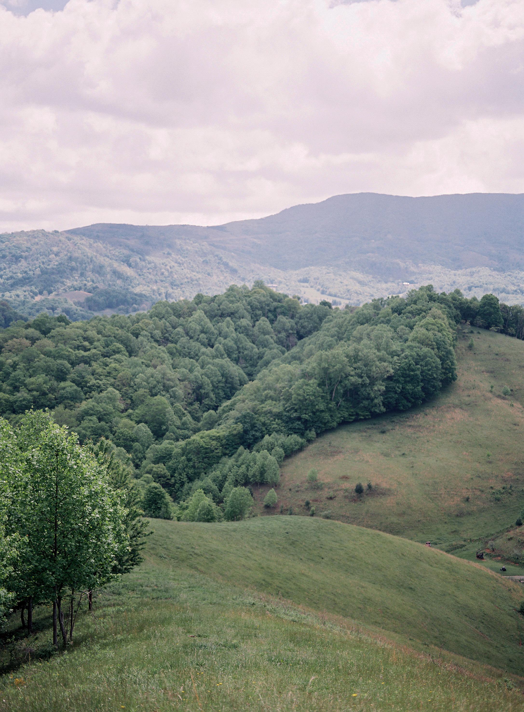 North Carolina Mountains - Outdoor Wedding Inspriation