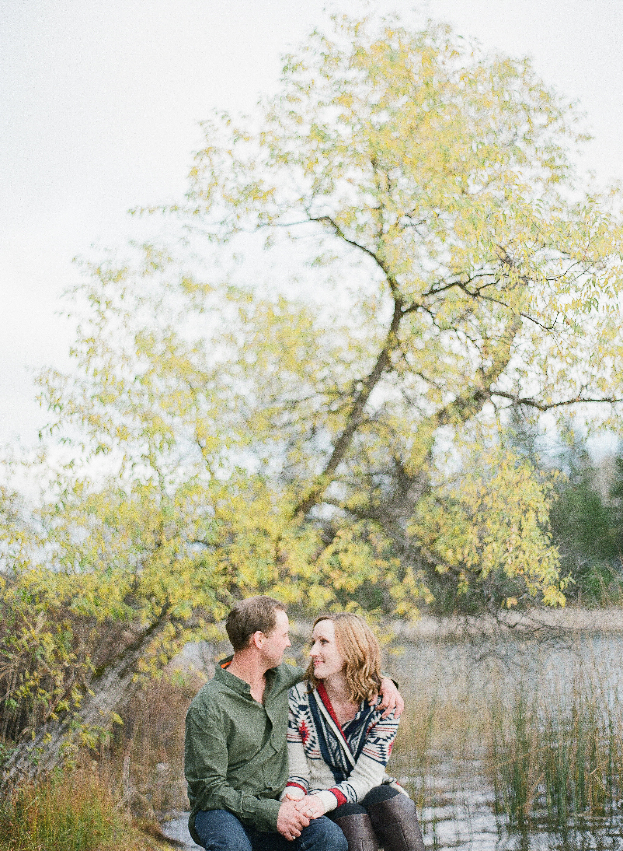 Lake of the Woods Engagement Session - Weddings in Winnipeg