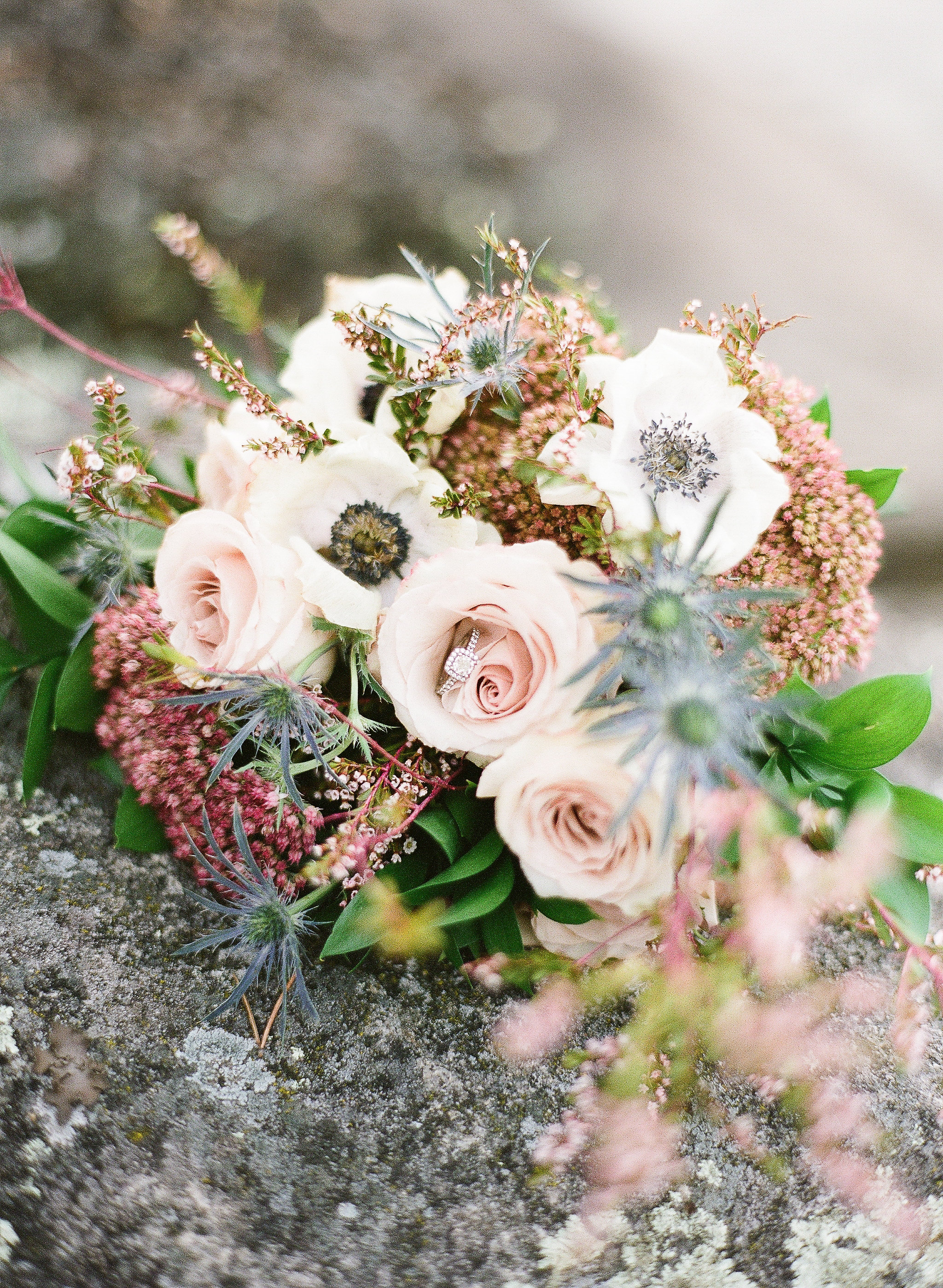 Blush Wedding Bouquet - Wedding Flowers Winnipeg
