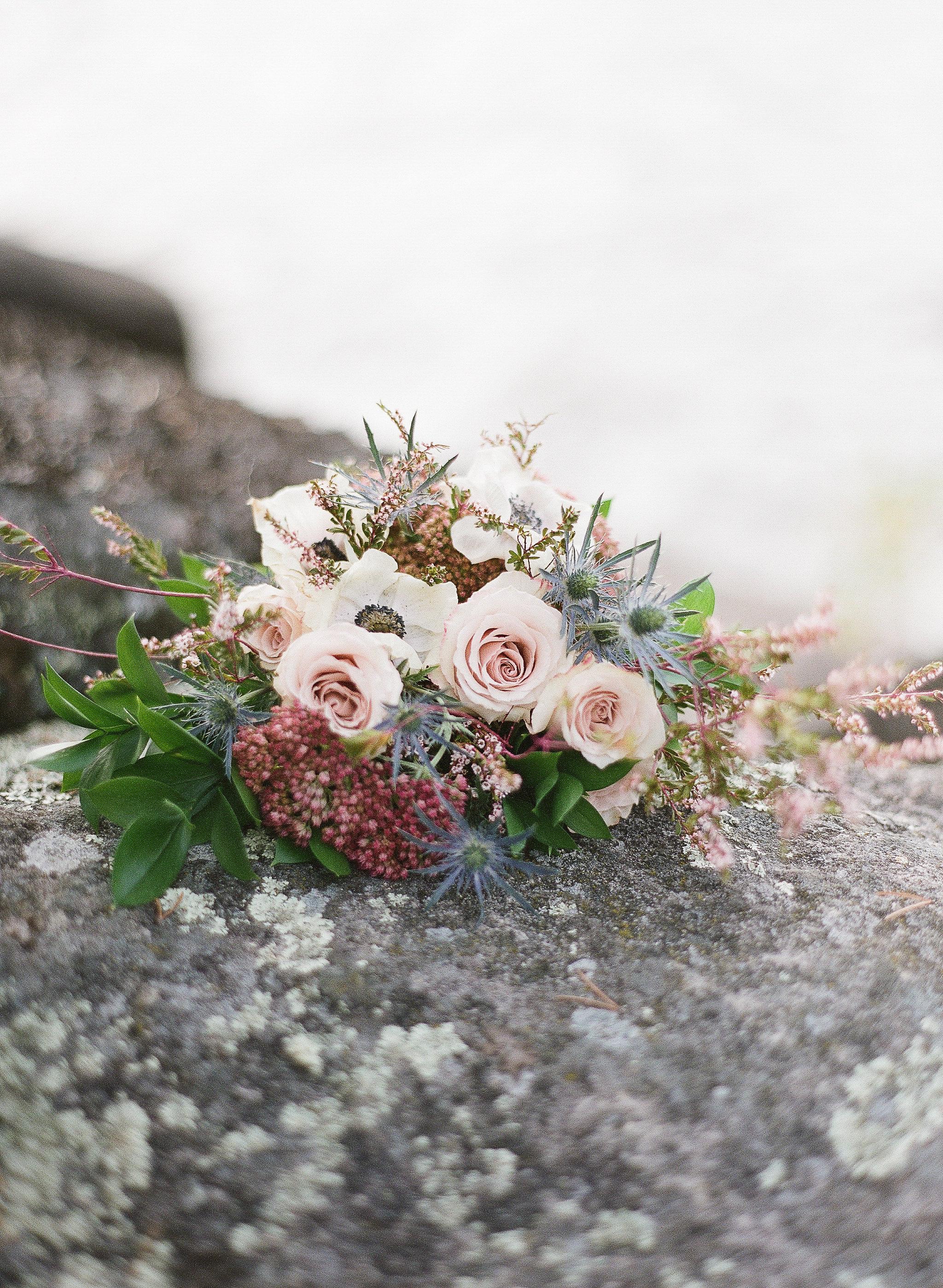 Pink and Blue Wedding Flowers - Wedding Flowers Winnipeg