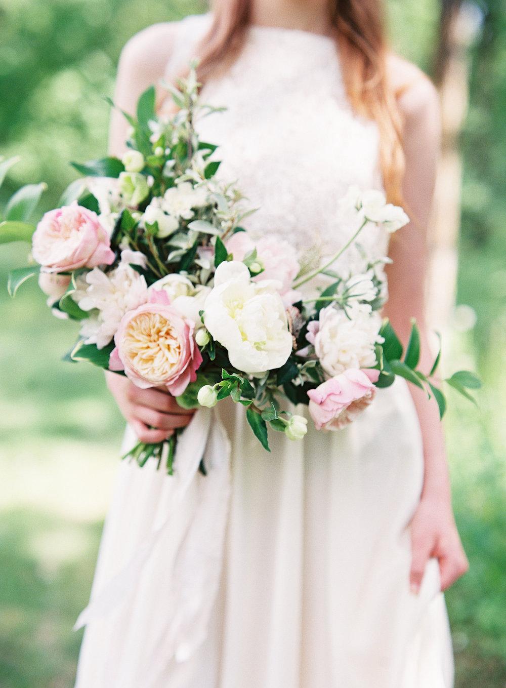 Garden Inspired Wedding Bouquet - Wedding Florists in Winnipeg