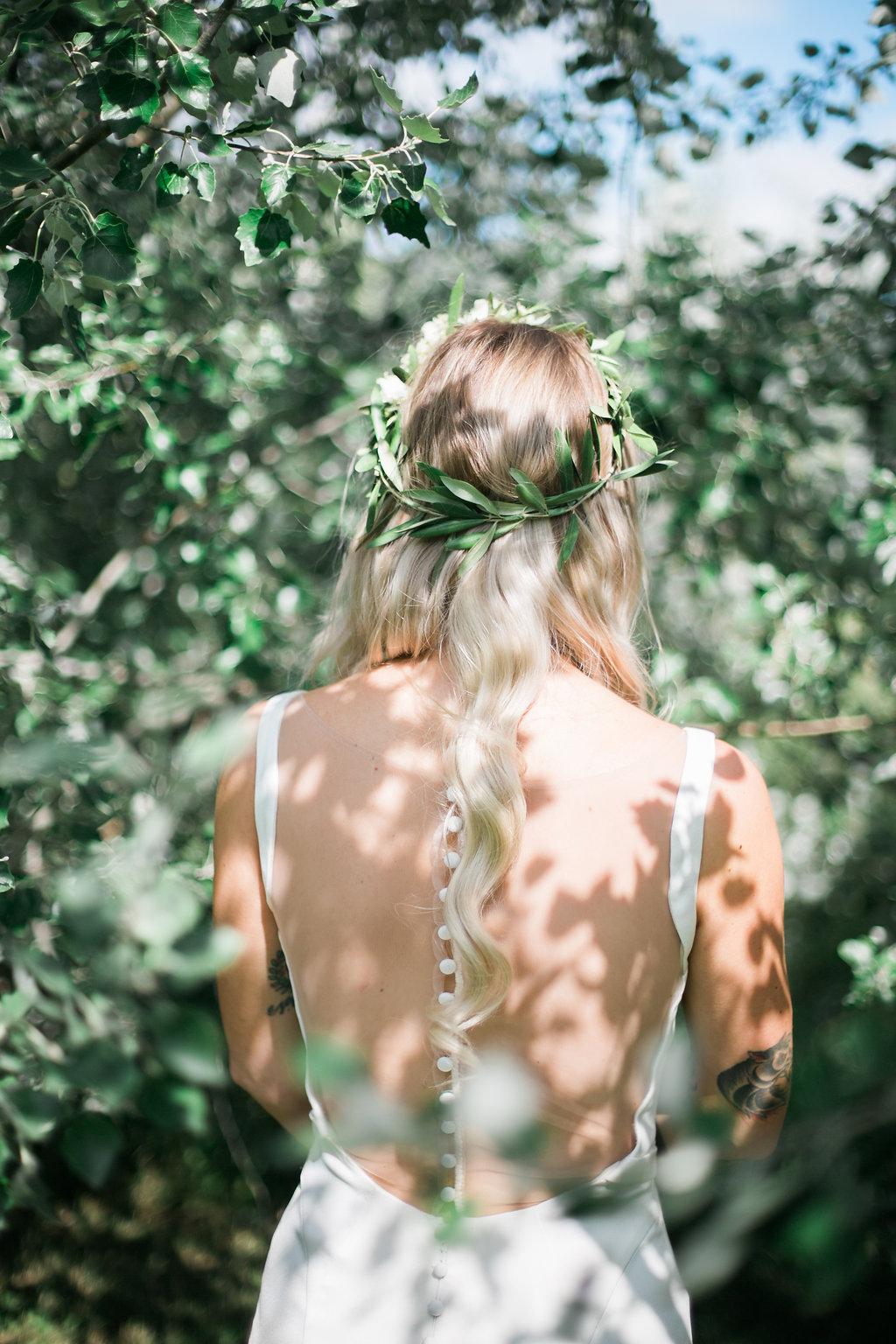 Greenery Wedding Ideas - Wedding Flower Crown