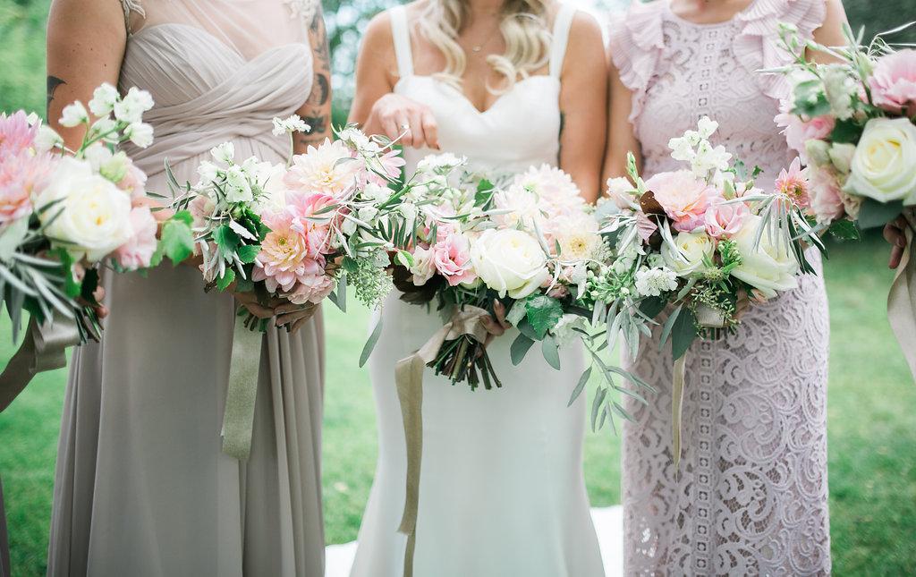 Organic Bridal Bouquet - Wedding Florists in Winnipeg