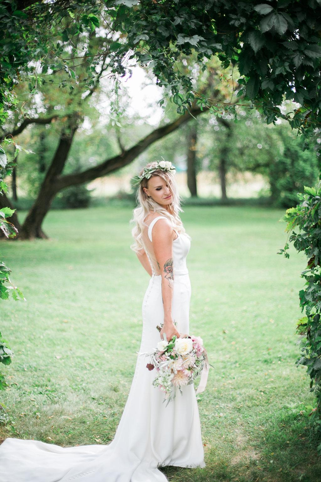 Blush Bridal Bouquet - Stone House Creative