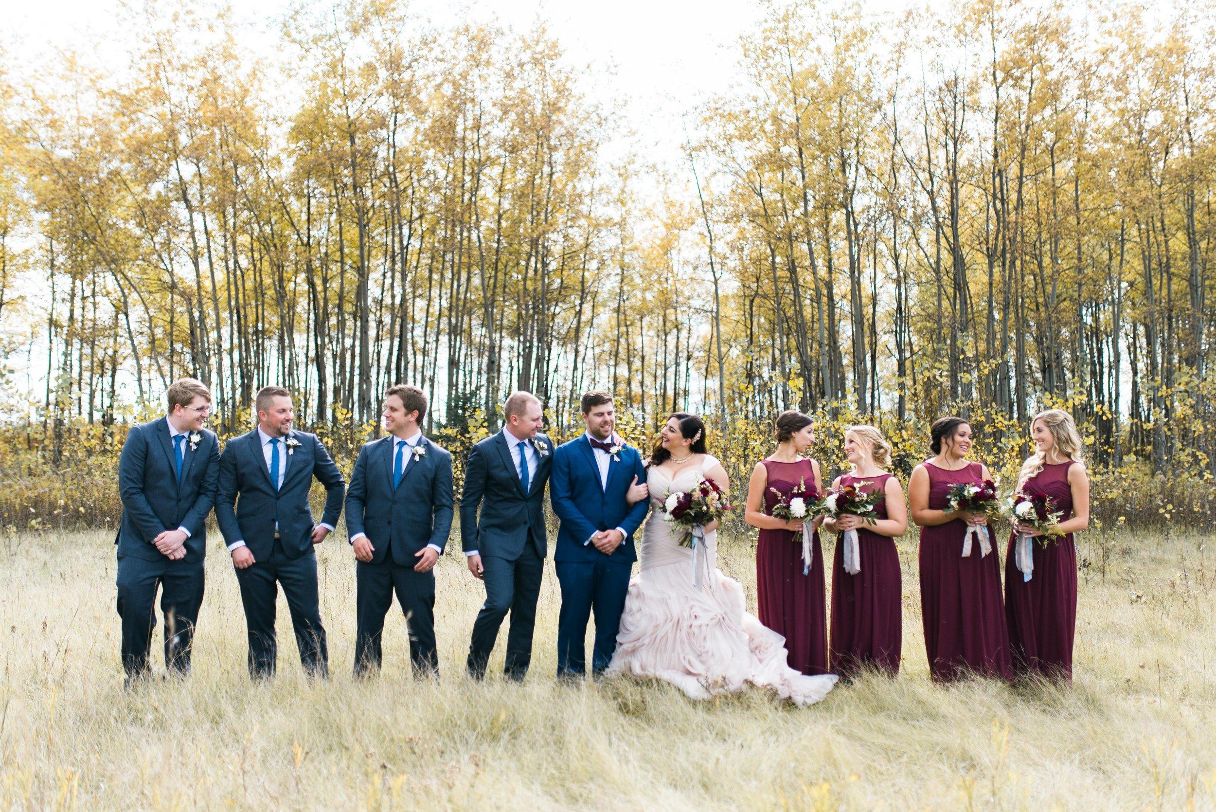 Fall Wedding - Pineridge Hollow Wedding