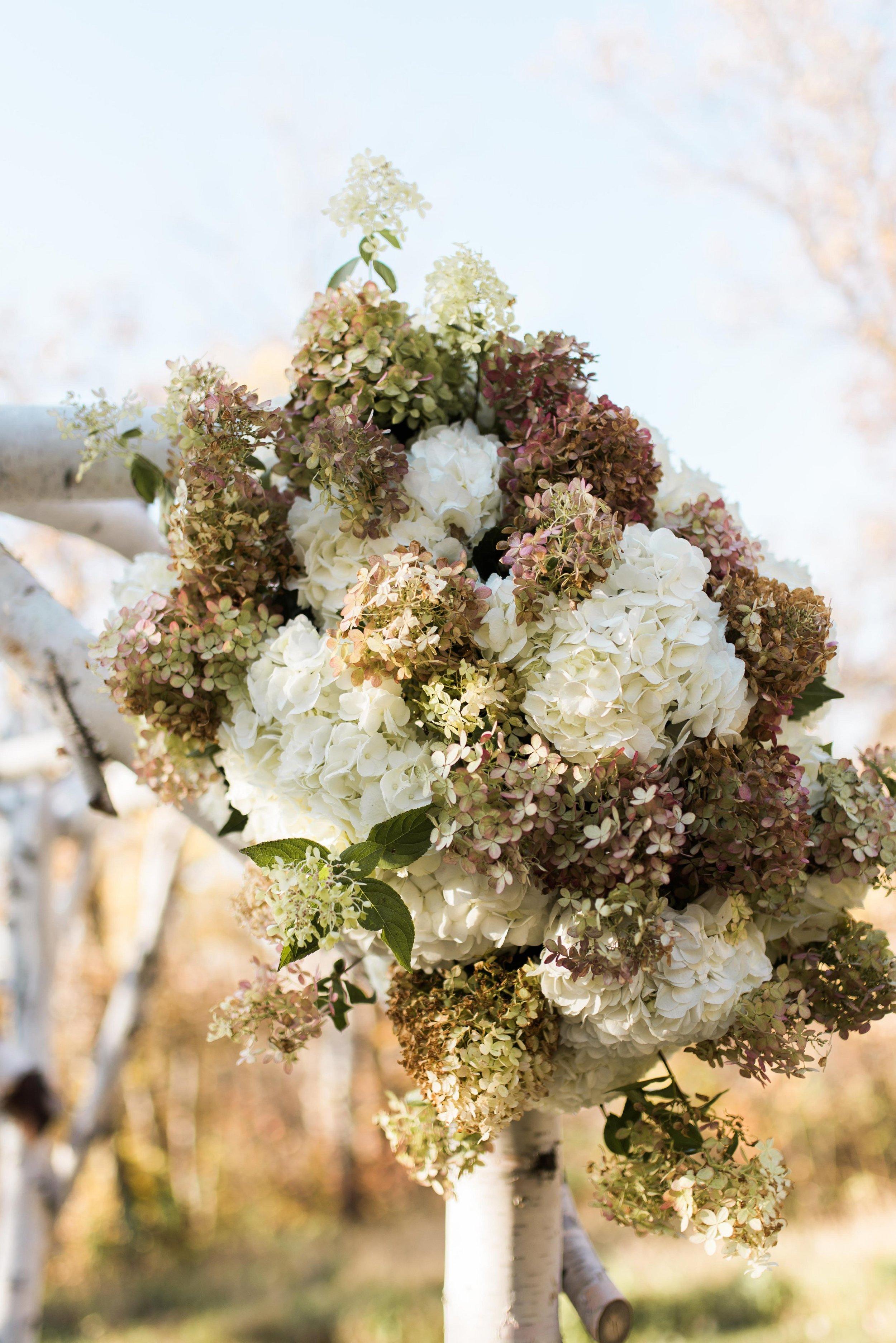 Wedding Ceremony Decor - Pineridge Hollow Wedding