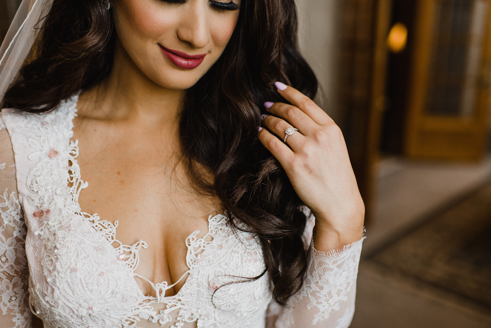 Lace Wedding Dress - Winter Wedding Ideas