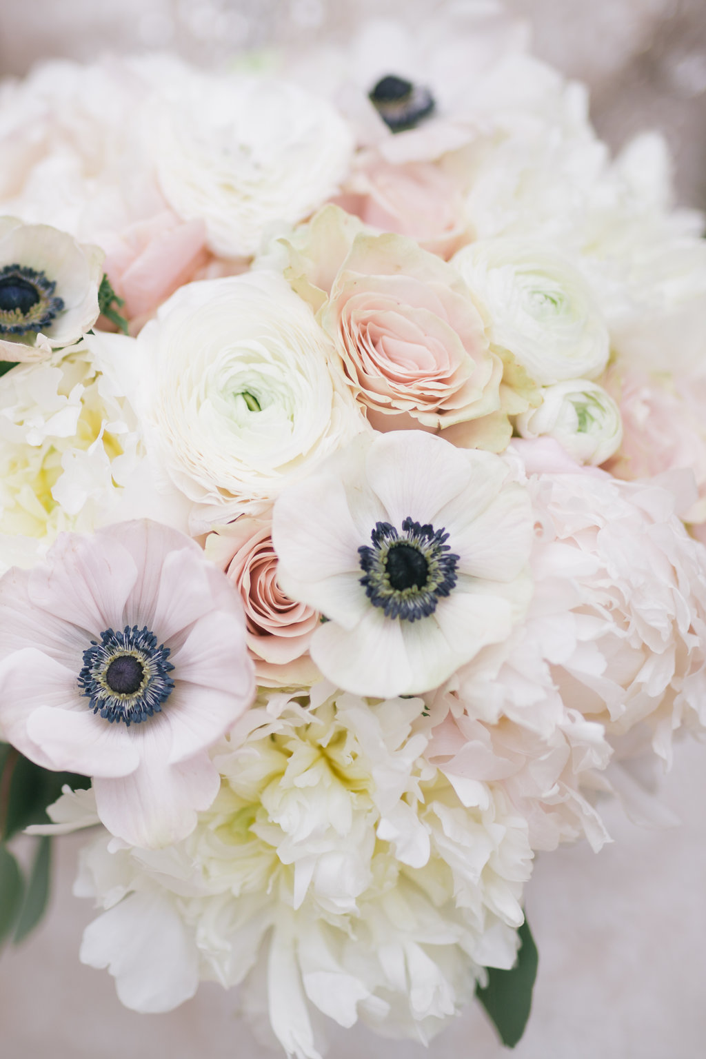 Peony and Anemone Bouquet - Stone House Creative