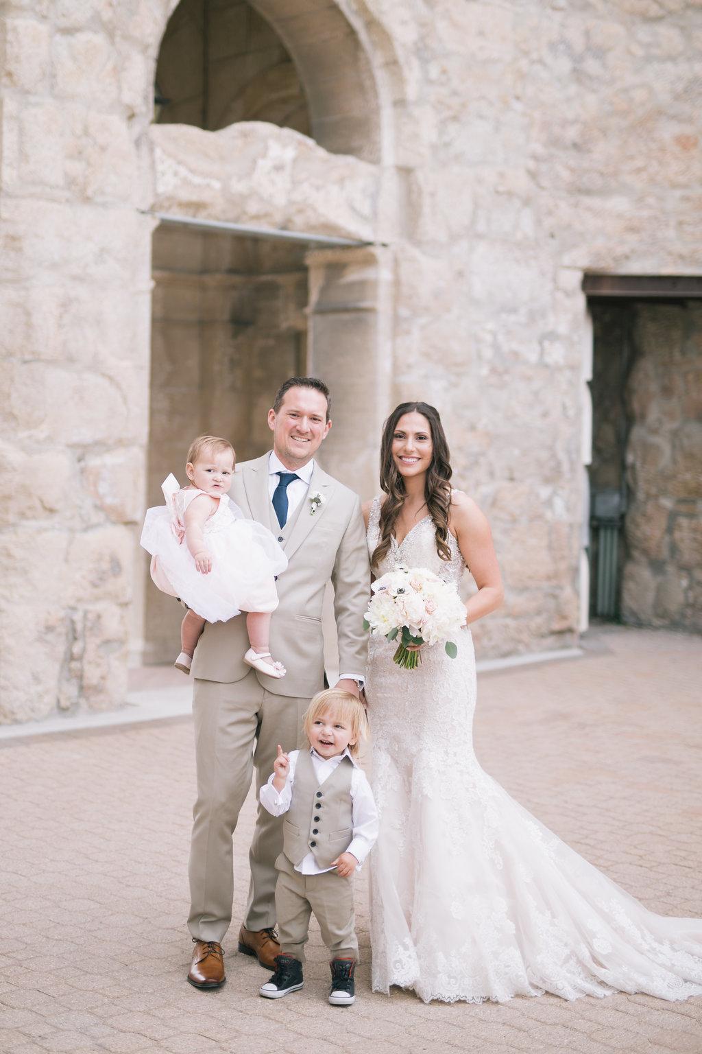 Blush and White Wedding Flowers - Wedding Florist in Winnipeg