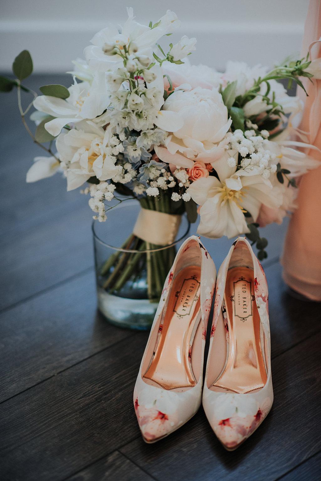 Peony Bridal Bouquet - Stone House Creative