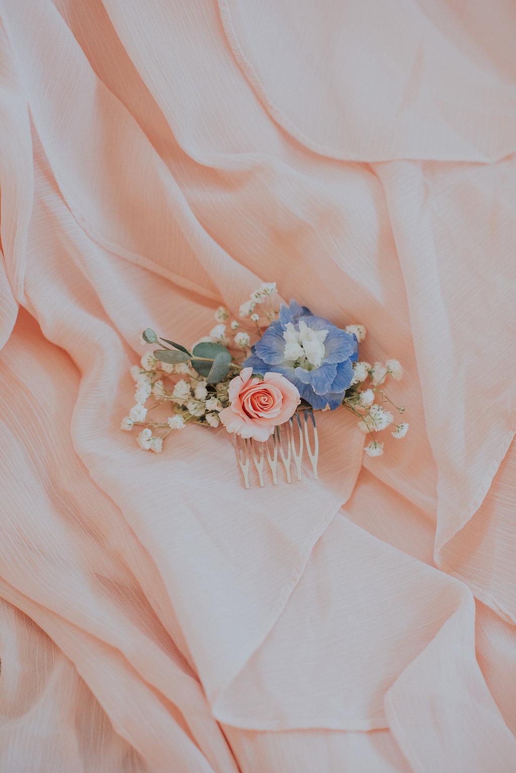 Bridal Hair Flowers - Wedding Flowers Winnipeg