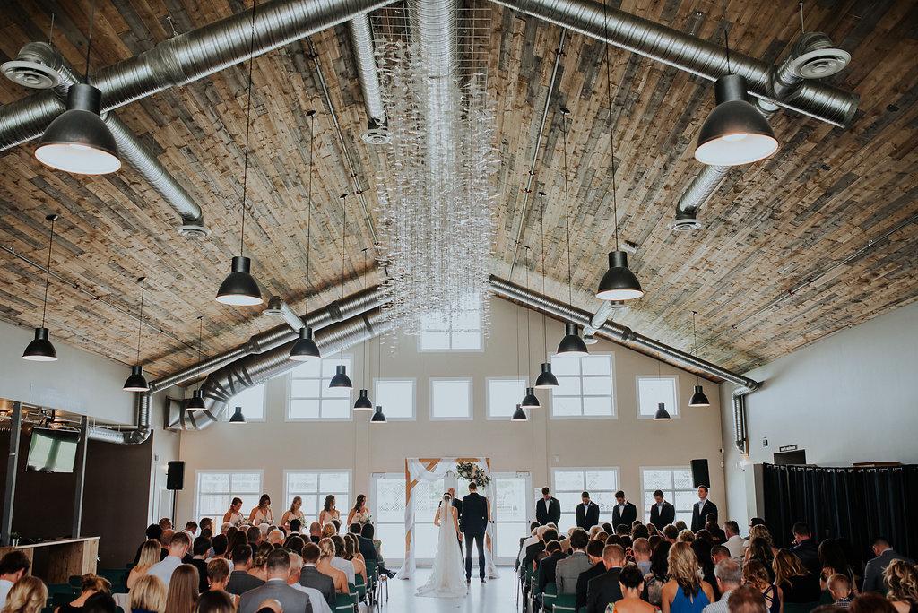 Riverwood Church Wedding - Indoor Wedding Ceremony Winnipeg