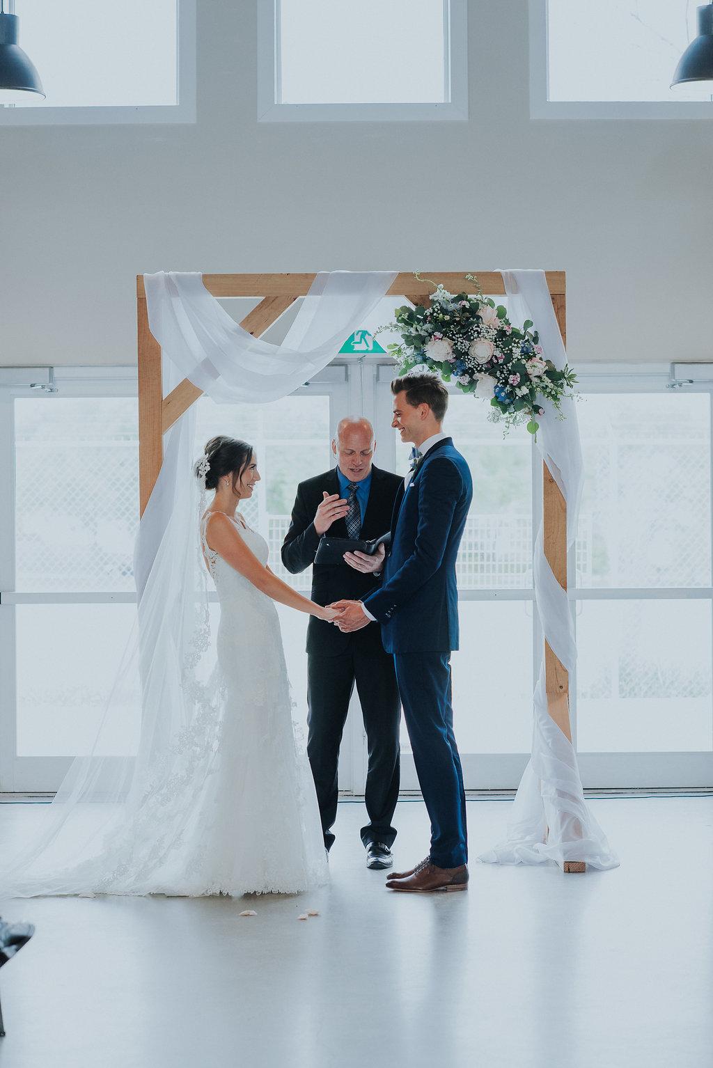 Indoor Wedding Ceremony Winnipeg - Wedding Flowers