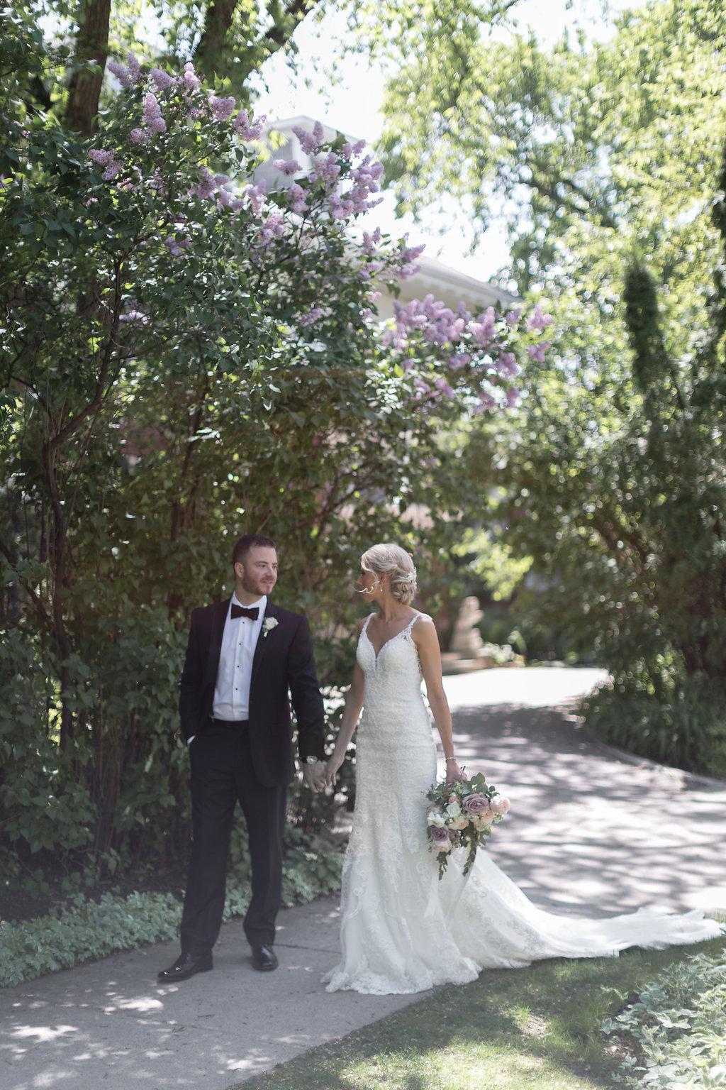 Romantic Spring Wedding - Winnipeg Wedding Flowers