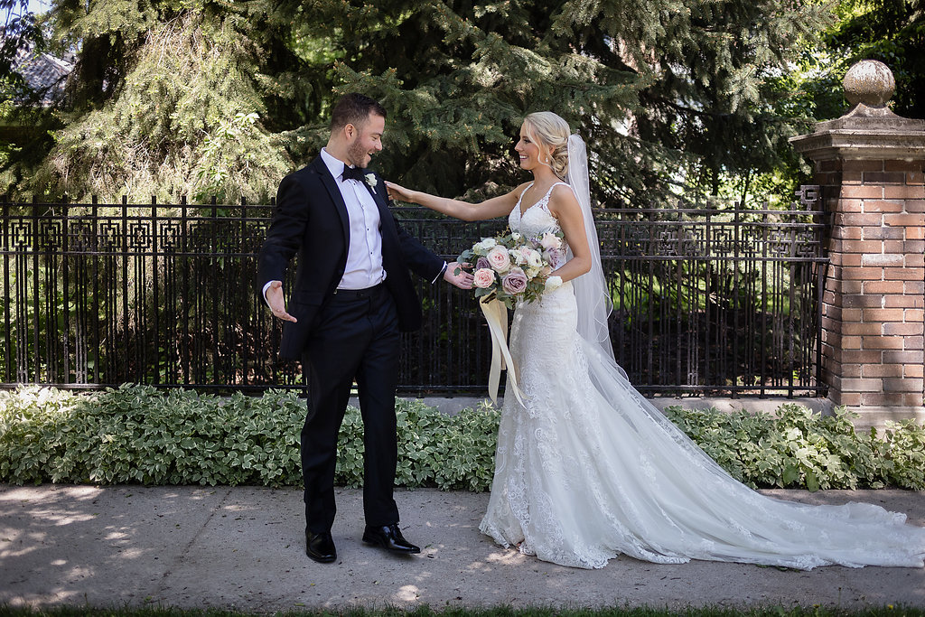 Blush and Mauve Bridal Bouquet - Stone House Creative