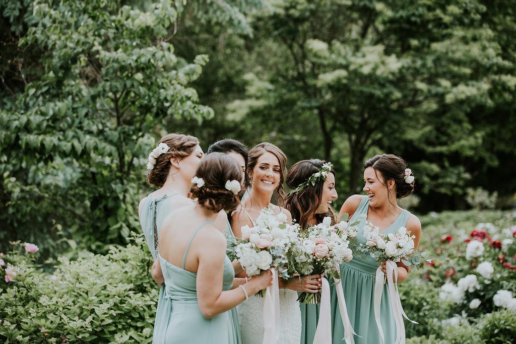 Pink and White Wedding Flowers - Winnipeg Wedding Florists