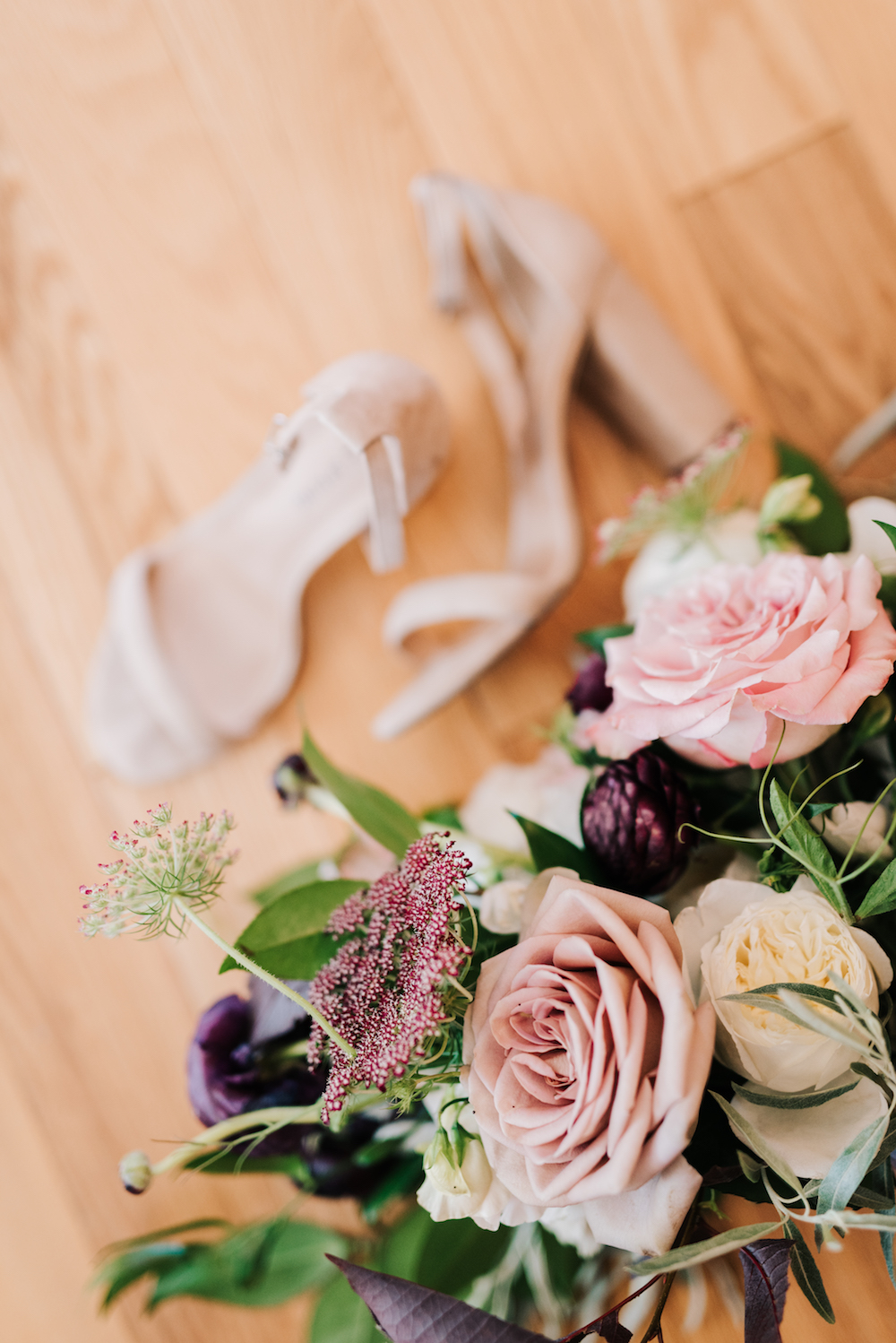 Mauve and Blush Wedding Bouquet - Winnipeg Wedding Florist