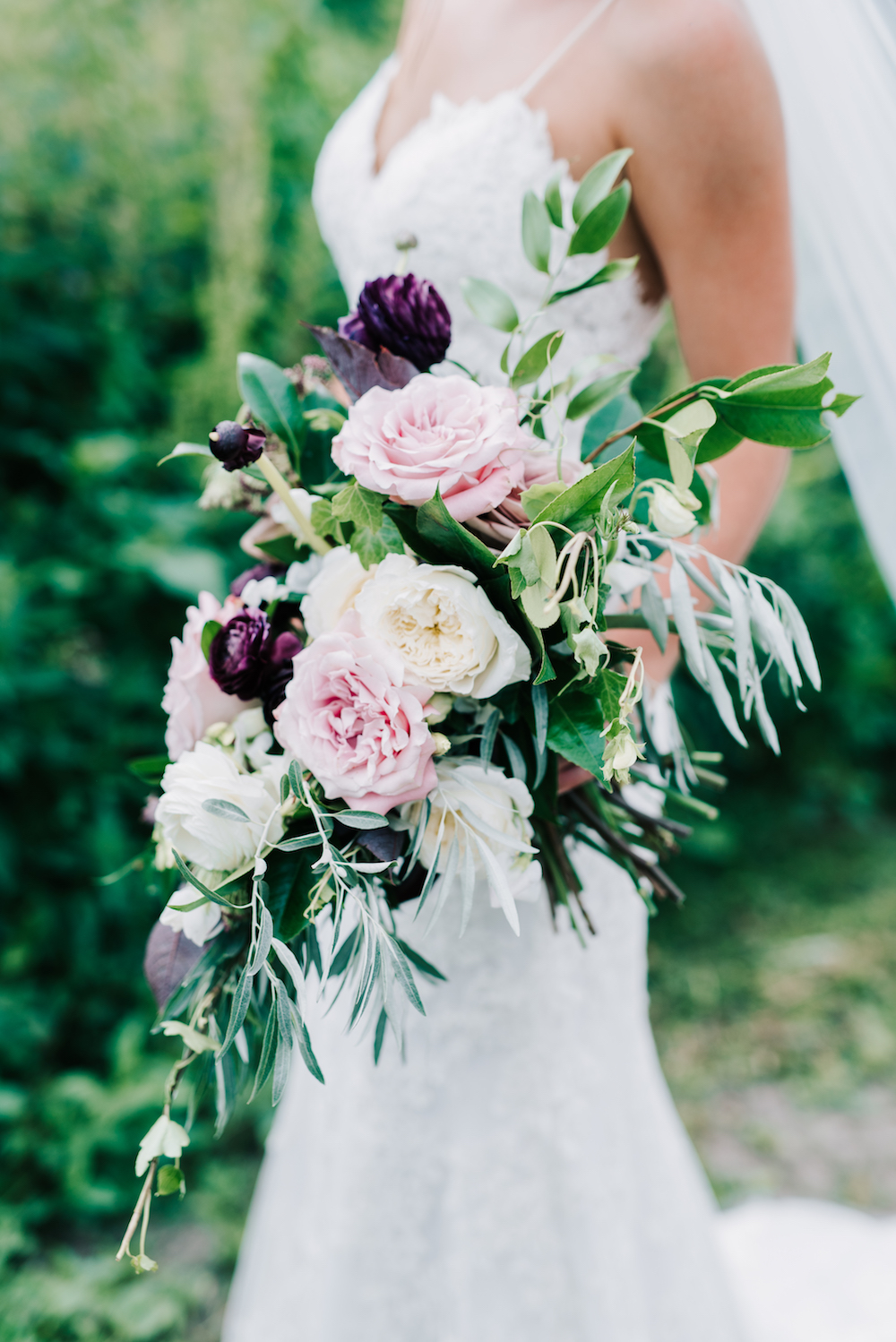 Organic Bridal Bouquet - Wedding Flowers Winnipeg