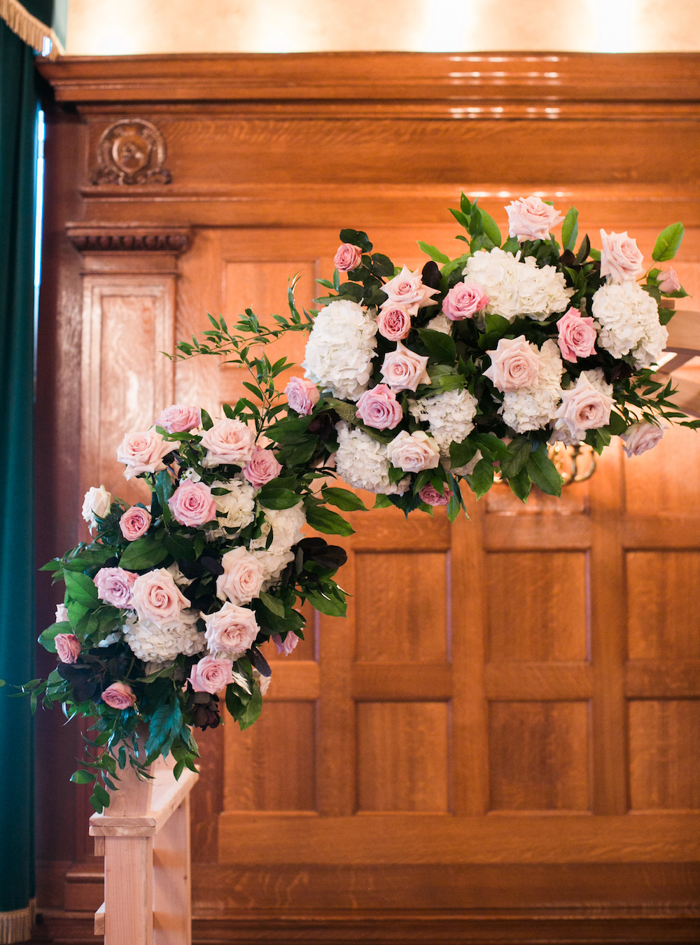 Rose and Hydrangea Wedding - Winnipeg Weddings