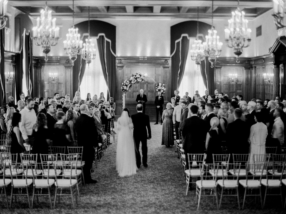 Fort Garry Hotel Wedding Ceremony - Winnipeg Wedding Florists