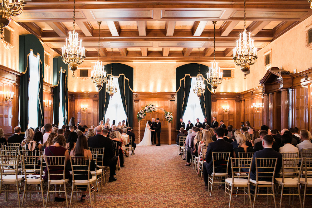 Fort Garry Hotel Concert Ballroom - Concert Ballroom Wedding