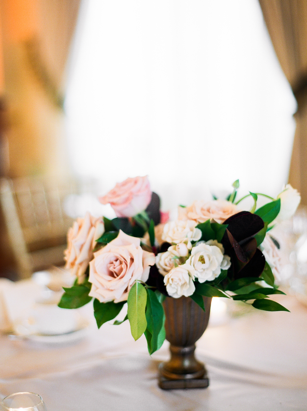Elegant Wedding Centrepiece - Stone House Creative