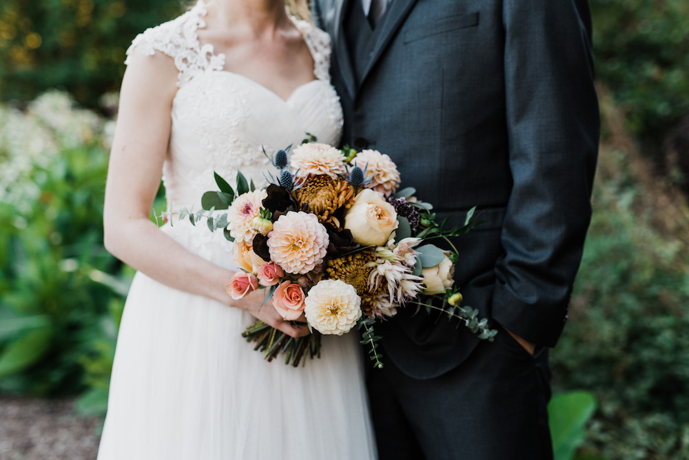 Fall Wedding Bouquet - Stone House Creative