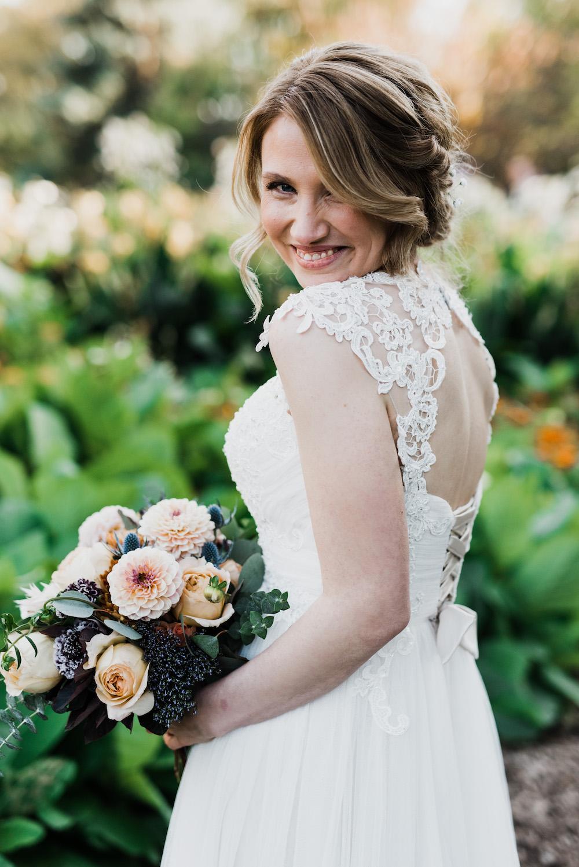 Feminine Fall Wedding - Fall Wedding ideas