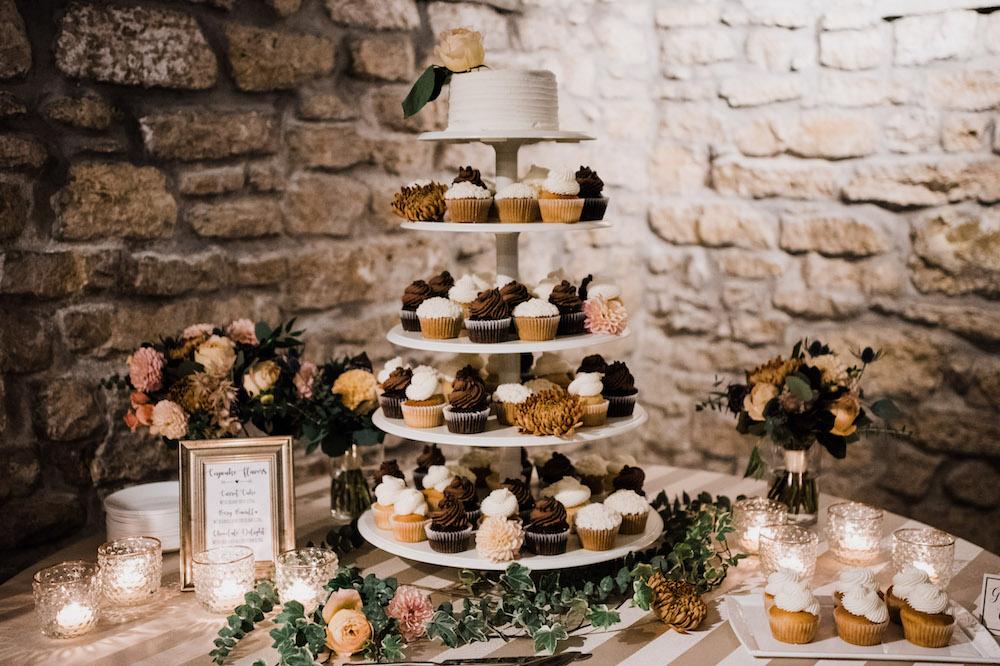Wedding Cupcake Flowers - Winnipeg Weddings