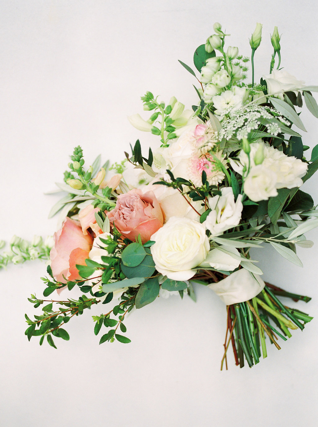 Garden Inspired Wedding Bouquet - Stone House Creative