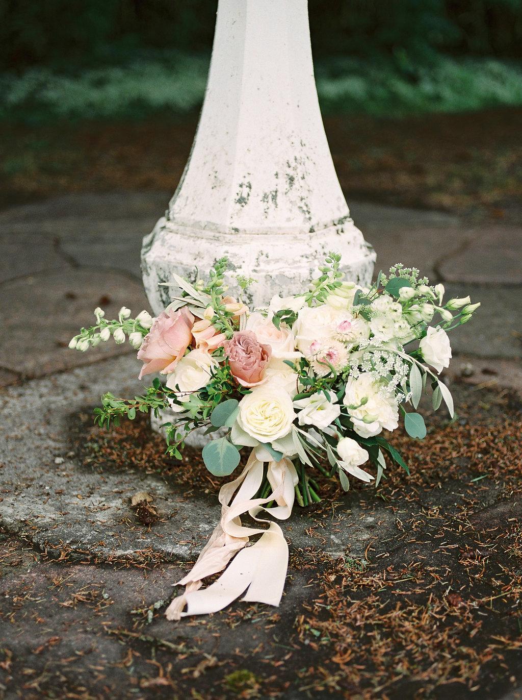 Botanical Bridal Bouquet - Wedding Florists Winnipeg