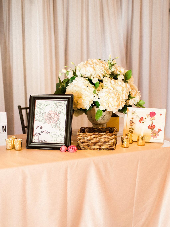 Wedding Guest Book Table Ideas - Winnipeg Wedding Florists