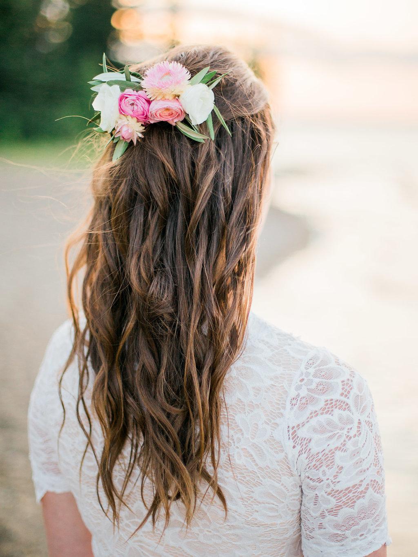 Bridal Hair Comb - Wedding Flower Ideas