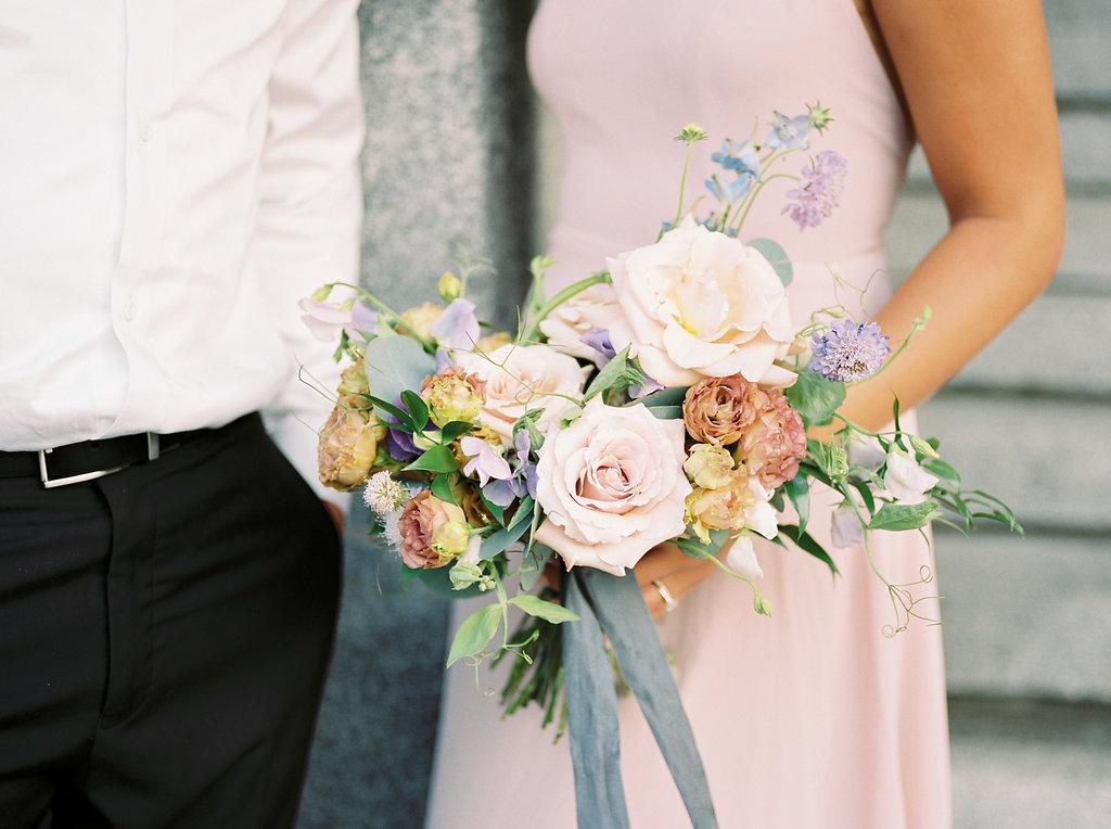 Quicksand Rose Bouquet - Wedding Florists in Winnipeg