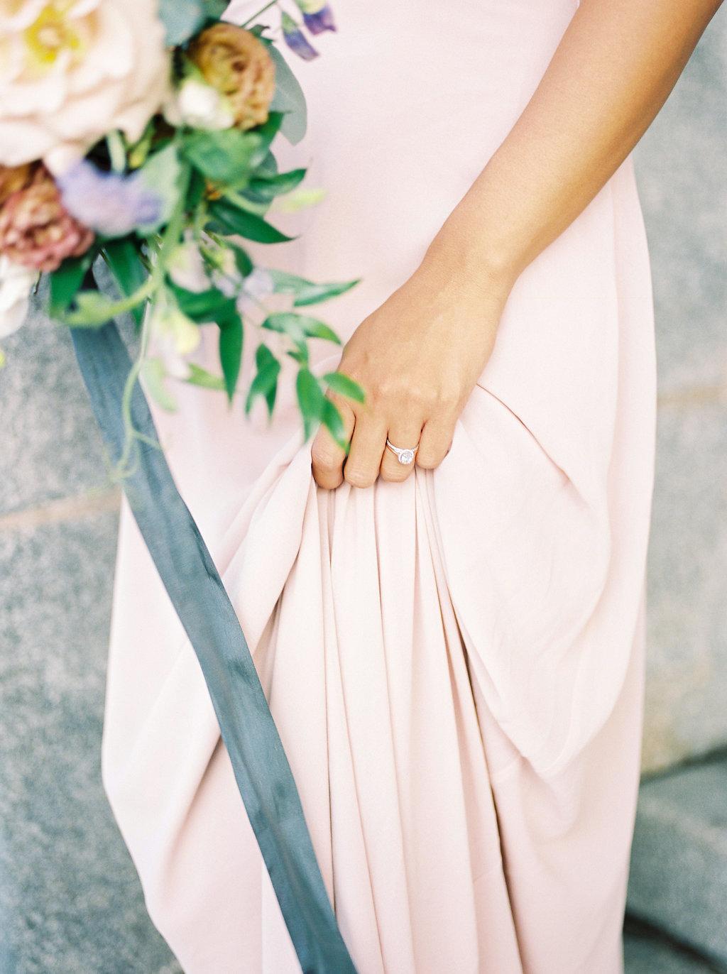 Blush and Grey Wedding Ideas - Wedding Florist Winnipeg