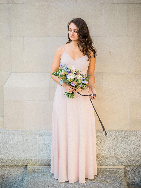 Pastel Bridal Bouquet - Winnipeg's Best Wedding Florist