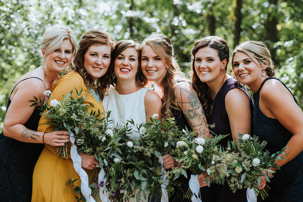 Greenery Wedding Bouquets - Natural Wedding Inspiration