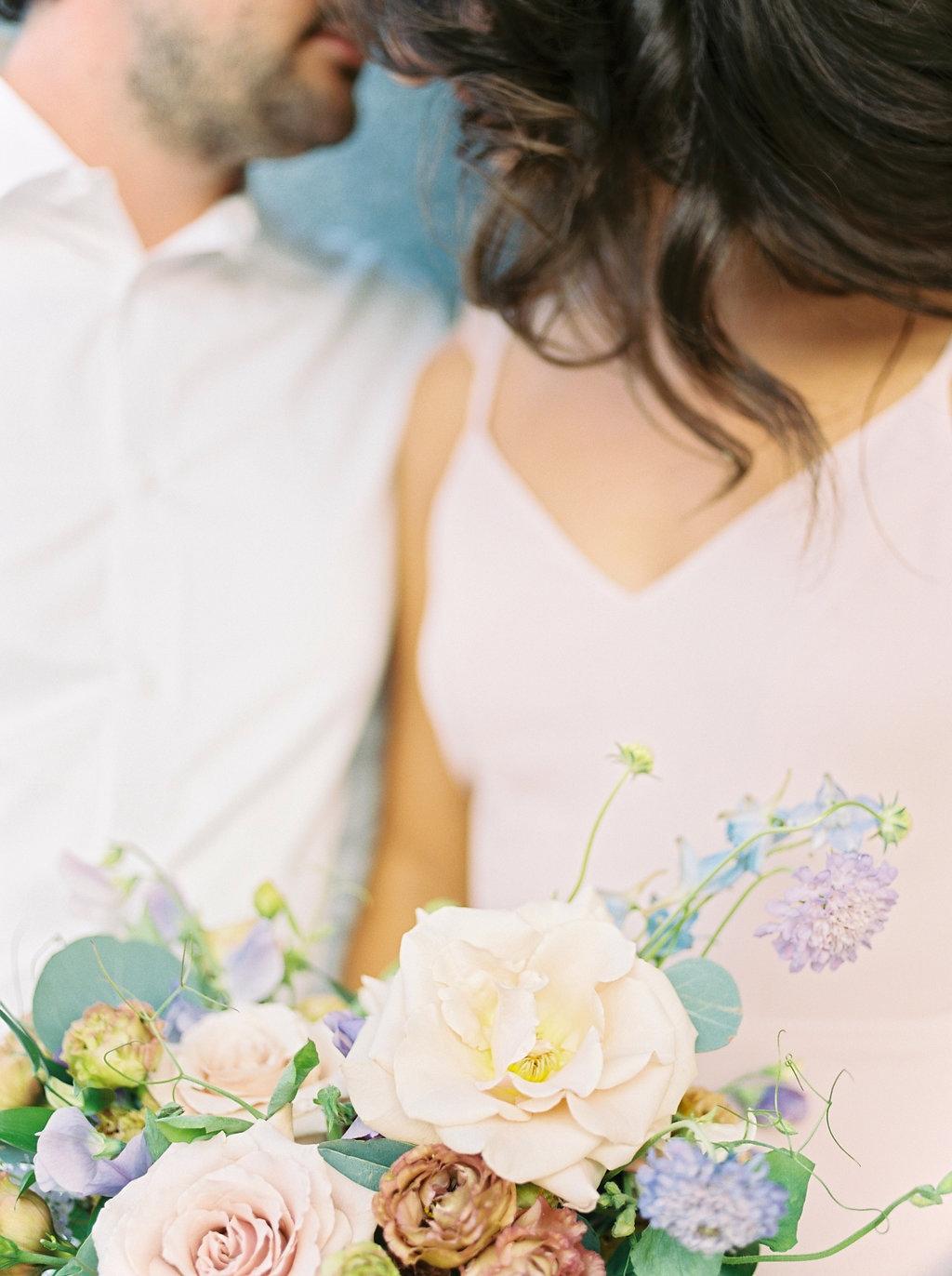 Pastel Wedding Bouquet - Winnipeg Wedding Florists